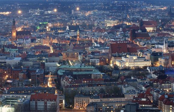 Getty Images/Varšuvos panorama