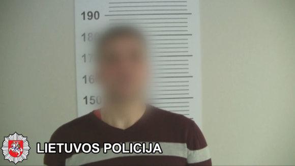 Klaipėdos apskrities VPK nuotr./Klaipėdoje sulaikyti heroino platinimu įtariami asmenys