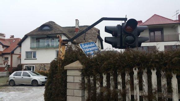 15min.lt nuotr./Šilutėje užsidegė buvusi vairavimo mokykla
