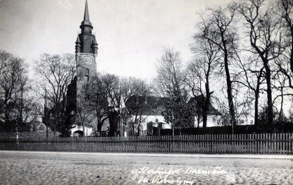 Kretingos muziejaus nuotr./Kretingos bažnyčia