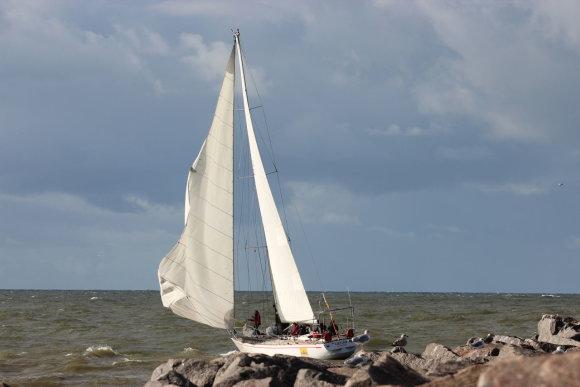Organizatorių nuotr./Šį savaitgalį – paskutinė rudens jūrinė regata.