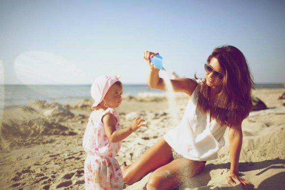 Simonos Banytės nuotr./Viktorija Macijauskienė su dukra Gabriele