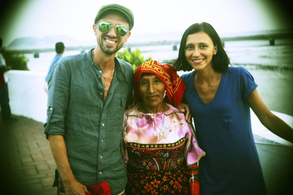 Asmeninio albumo nuotr./Lino ir Irmos Adomaičių kelionė po Centrinę Ameriką