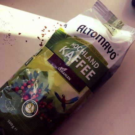 Ekologiška, skrandžio nedirginanti kava