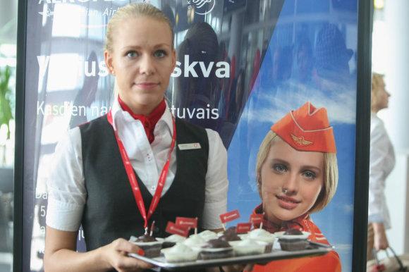 """Juliaus Kalinsko/15min.lt nuotr./""""Air Lituanica"""" pristatė skrydžius į Berlyną"""
