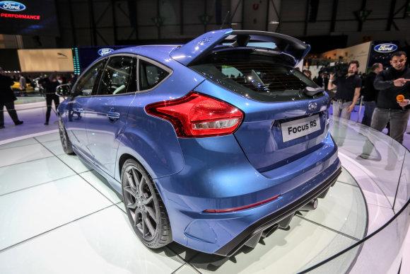 """Juliaus Kalinsko/15min.lt nuotr./""""Ford Focus RS"""""""