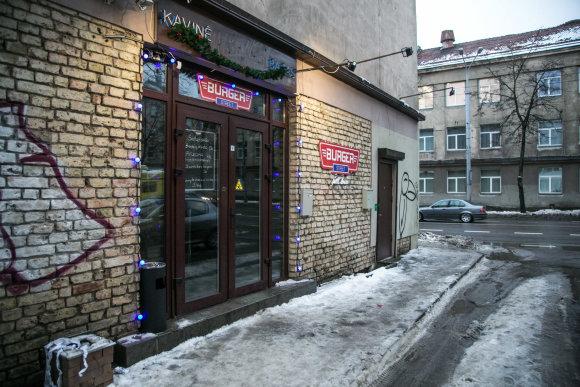 """Juliaus Kalinsko / 15min nuotr./Kavinė """"Burger street"""""""