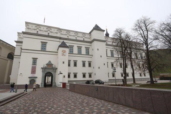 Juliaus Kalinsko/15min.lt nuotr./Lietuvos valdovų rūmai