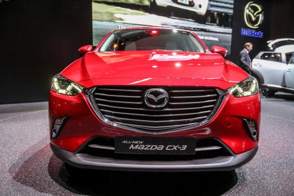 """Juliaus Kalinsko/15min.lt nuotr./""""Mazda CX-3"""""""
