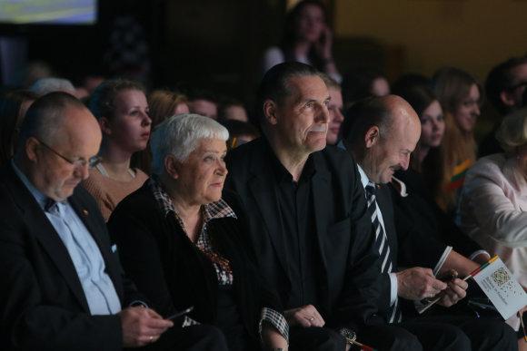 Juliaus Kalinsko/15min.lt nuotr./Veronika Povilionienė ir Algirdas Kaušpėdas