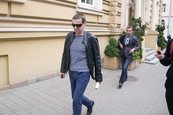 Juliaus Kalinsko / 15min nuotr./Raimondas Kurlianskis apklaustas STT