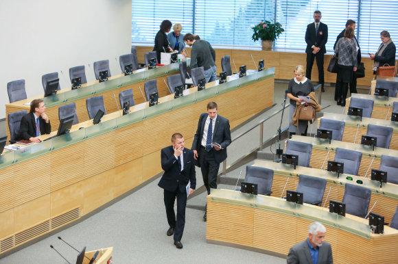 Juliaus Kalinsko / 15min nuotr./Seime vyko naujų seimo narių apmokymai