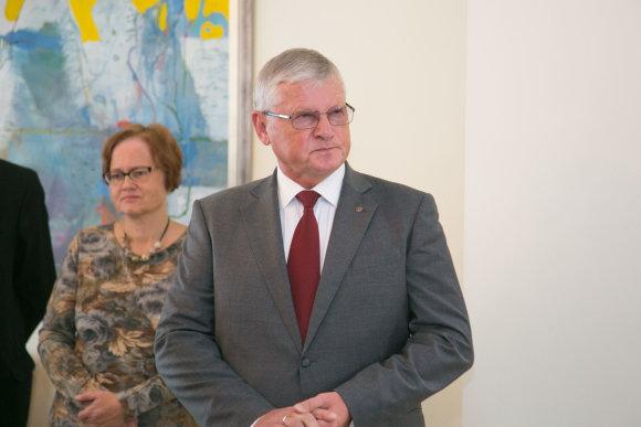 Juliaus Kalinsko / 15min nuotr./Parolimpinio komiteto prezidentas Vytautas Kvietkauskas
