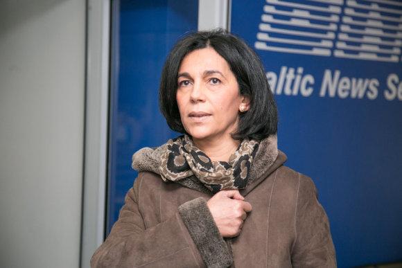 """Juliaus Kalinsko / 15min nuotr./""""Veolia"""" viceprezidentė Centrinei ir Rytų Europai Malika Ghendouri."""