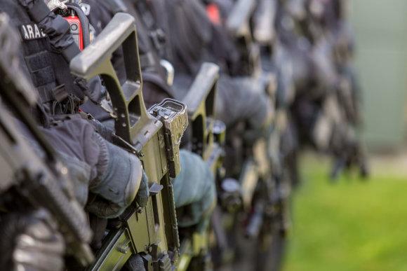 """Juliaus Kalinsko / 15min nuotr./Antiteroristinių operacijų rinktinės """"Aras"""" moderni būstinė"""