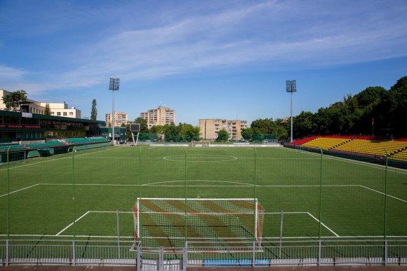 Juliaus Kalinsko / 15min nuotr./Lietuvos futbolo federacijos stadionas