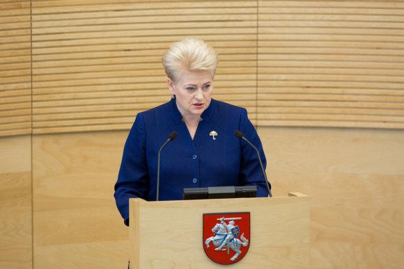 Juliaus Kalinsko / 15min nuotr./Dalia Grybauskaitė