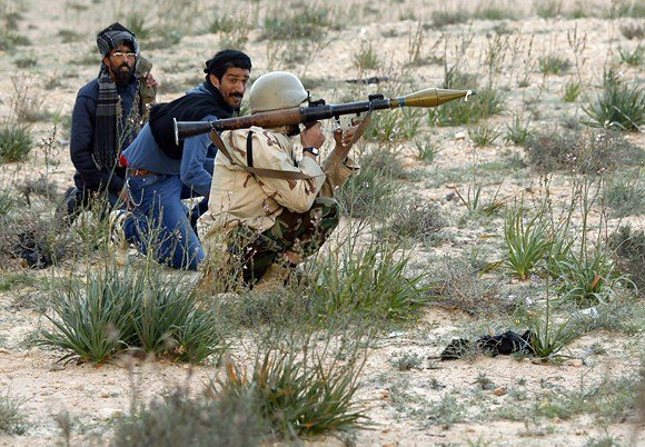 """""""Reuters""""/""""Scanpix"""" nuotr./Libijos sukilėliai"""