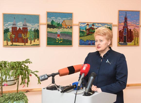 LR Prezidento kanceliarijos/R. Dačkaus nuotr./Dalia Grybauskaitė