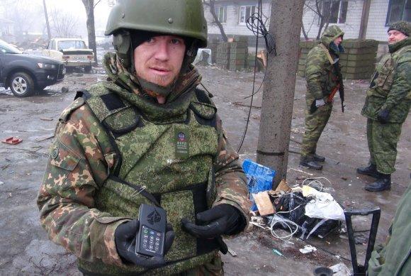 """""""Scanpix""""/ITAR-TASS nuotr./Rusijos teroristas prie Donecko oro uosto"""