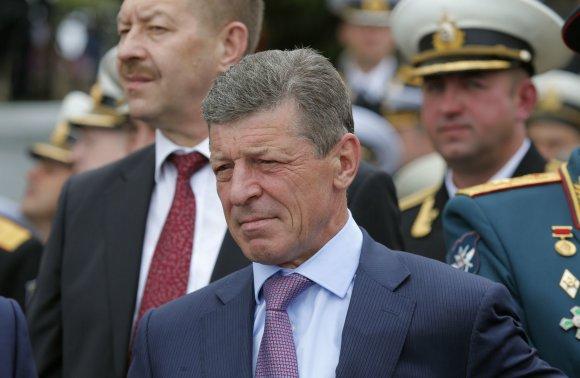 """""""Reuters""""/""""Scanpix"""" nuotr./Rusijos vicepremjeras Dmitrijus Kozakas Sevastopolyje"""