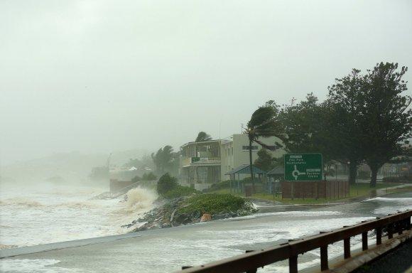"""AFP/""""Scanpix"""" nuotr./Šiaurės Australija pasiekė du tropiniai audros"""