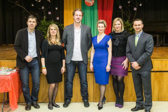 Dariaus Kuzmicko nuotr./Amerikos lietuvį į Portlendą pasikvietė vietinė Lietuvių Bendruomenė, vadovaujama Ingridos Misevičienės (antra iš kairės)