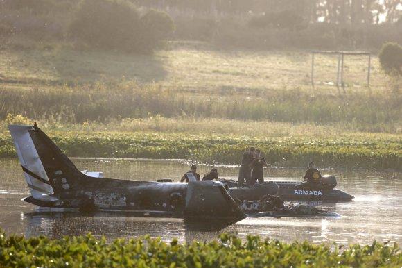 """Reuters""/""Scanpix"" nuotr./Urugvajuje sudužęs lėktuvas"