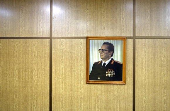 """Reuters""/""Scanpix"" nuotr./Josipo Brozo Tito portretas"