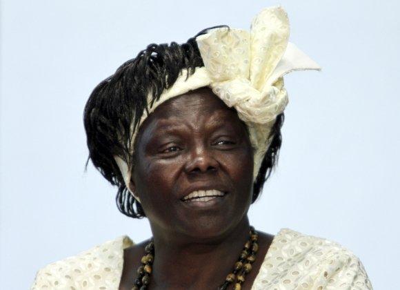 """Reuters""/""Scanpix"" nuotr./Wangari Maathai"