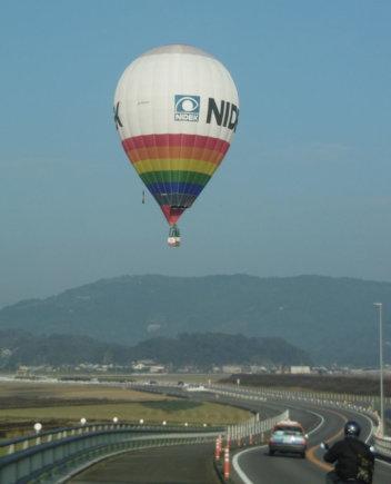 15min nuotr./Tado Gegevičiaus pilotuojamas balionas