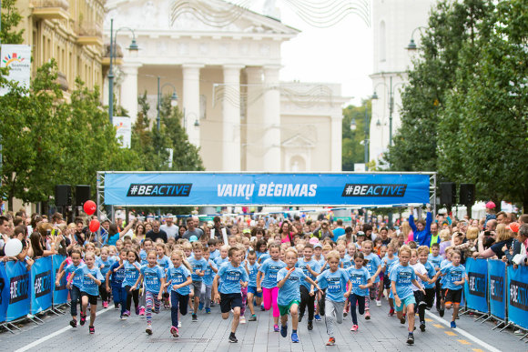"""Augusto Didžgalvio nuotr./""""Danske Bank Vilniaus maratonas"""""""