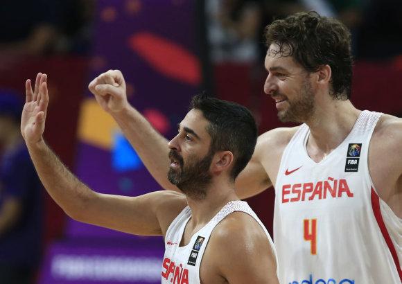 """""""Scanpix"""" nuotr./Ispanijos krepšininkai iškovojo Europos čempionato bronzą"""