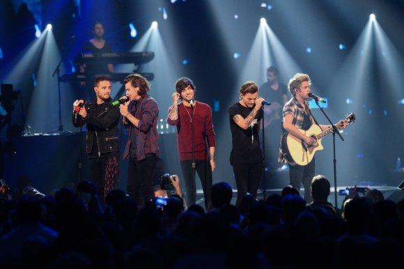 """""""Scanpix""""/AP nuotr./2 vieta – """"One Direction"""" (75 mln. JAV dolerių)"""