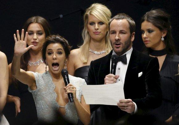 """Reuters""/""Scanpix"" nuotr./Eva Longoria ir Tomas Fordas"