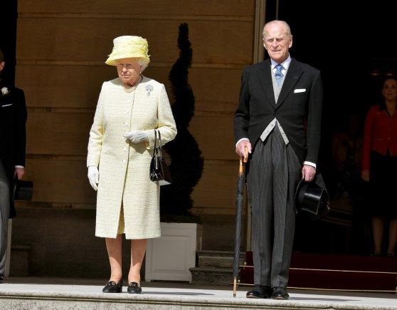 """Reuters""/""Scanpix"" nuotr./Karalienė Elizabeth II ir princas Philipas"