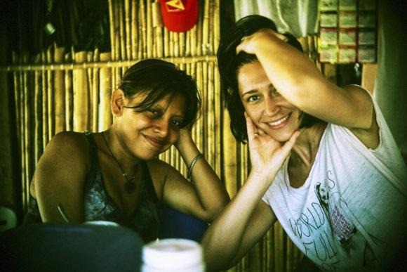 Asmeninio albumo nuotr./Irma Adomaitienė Centrinėje Amerikoje