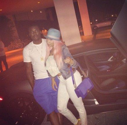 """""""Instagram"""" nuotr./Nicki Minaj ir Meekas Millas"""