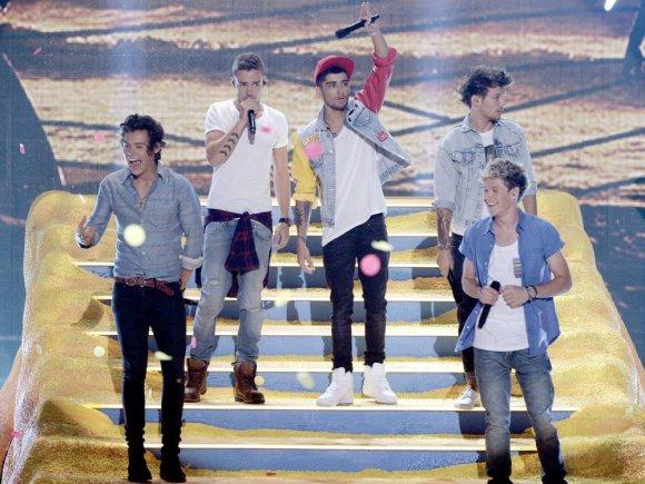 "AFP/""Scanpix"" nuotr./""One Direction"""