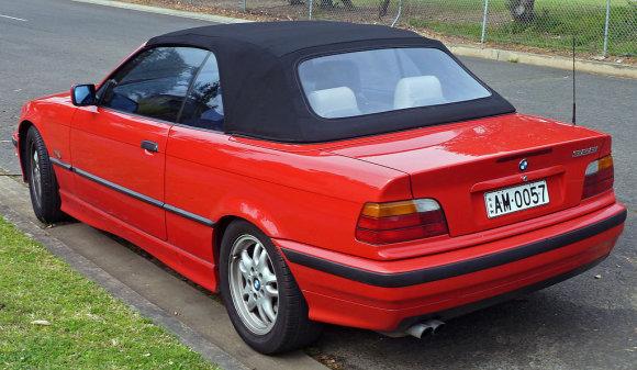 Wikipedia.org nuotr./BMW 3 (E36) kabrioletas