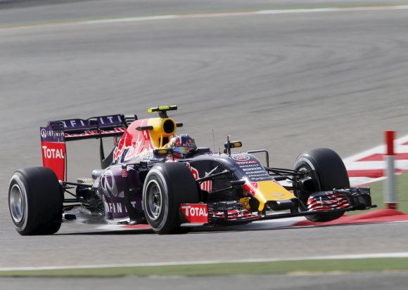 """""""Scanpix"""" nuotr./F-1 penktadienio treniruotės prieš Bahreino GP"""