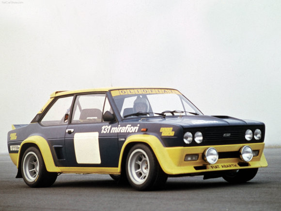 """1976-ųjų """"Fiat 131 Abarth Rally"""""""