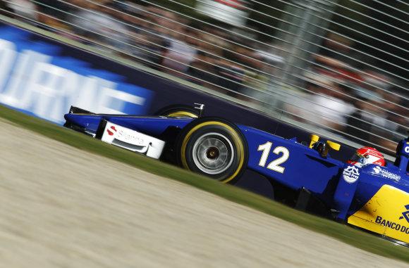 """Scanpix"" nuotr./""Formulės-1"" lenktynės Australijoje"