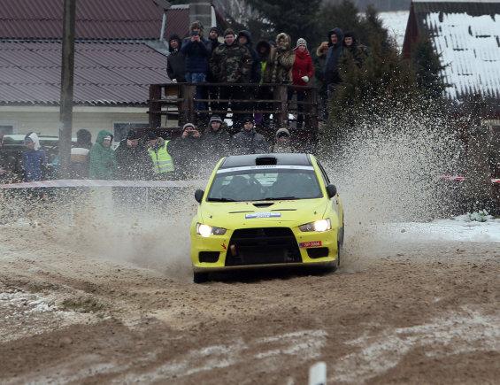 "Eriko Ovčarenko/15min.lt nuotr./""Halls Winter Rally"": 7-8 ir 10-11 GR"