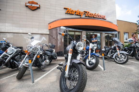 """""""Harley-Davidson"""" salono dviejų metų gimtadienis"""