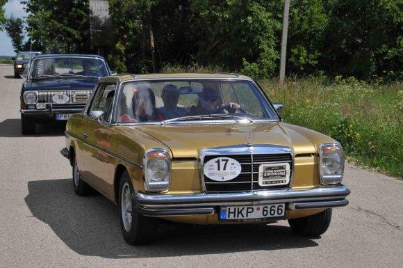 Algimanto Brazaičio nuotr./Istorinių automobilių ralis Kėdainiuose