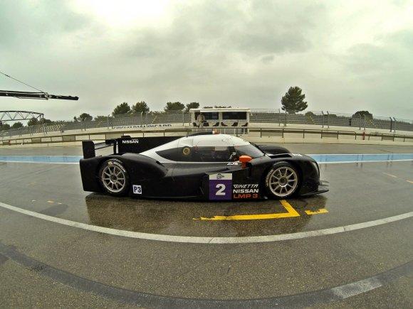 "Pirmieji ""Le Mans series"" čempionatui sukurto ""Ginetta"" bandymai"