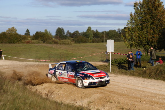 "Pauliaus Sviklo/GAZAS.LT nuotr./""Rally Classic"" akimirka"