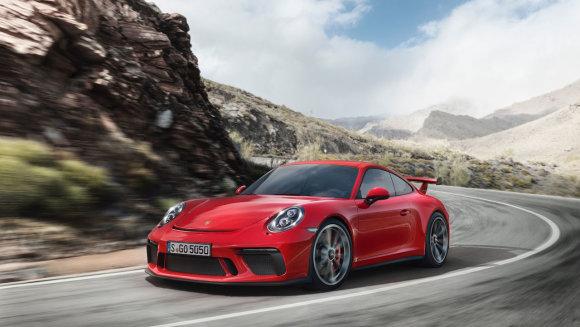 """""""Porsche"""" nuotr./""""Porsche 911 GT3"""""""