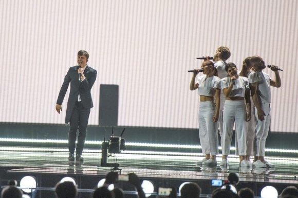 Eurovision.tv (EBU) nuotr./Belgijos atstovas Loïc Nottet